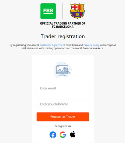 How to register at FBS forex broker